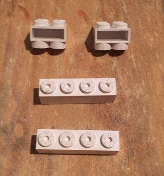 Tente 4 Piezas Blanco
