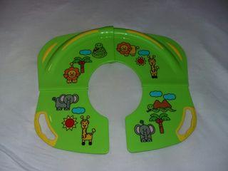 Adaptador WC para niños portátil (plegable)