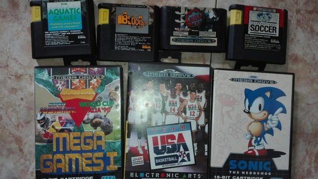 Sega Megadrive Con Juegos De Segunda Mano Por 70 En Badalona En