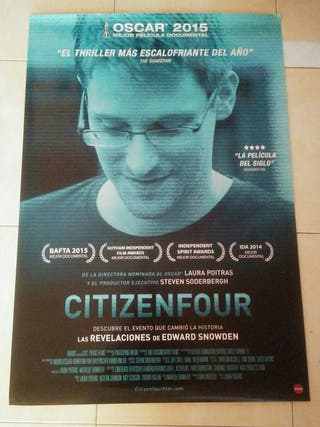 Cartel cine Citizenfour