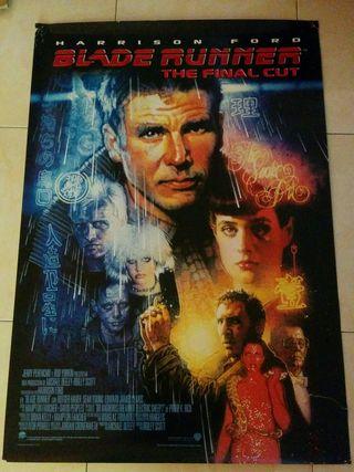 Cartel de cine Blade Runner