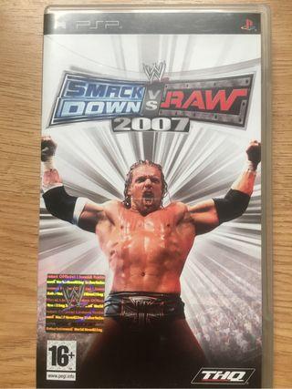 Smackdown vs Raw 2007 (Juego PSP)