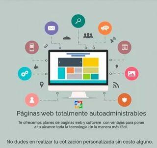 Páginas web, E-commerce, Social Media, Software