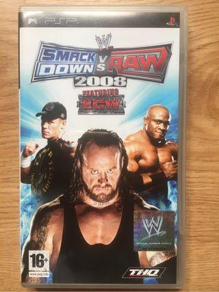 Smackdown vs Raw 2008 (Juego PSP)