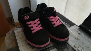 Zapatillas con ruedines Heelys