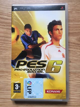 PES 6 (Juego PSP)