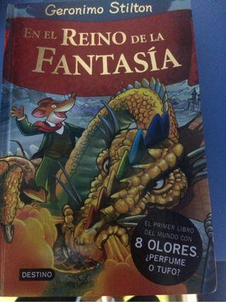 Libro Geronimo stilton en El reino de la Fantasia