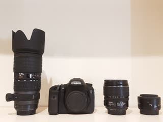 Canon 7D + Sigma 70/200mm 2.8 + 15/85mm Canon