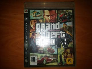 juego Grand theft auto IV