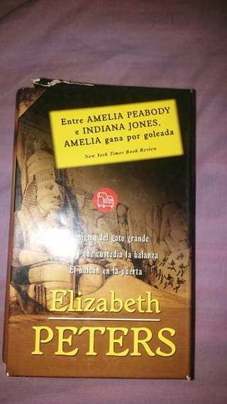 libro de elisabeth peters