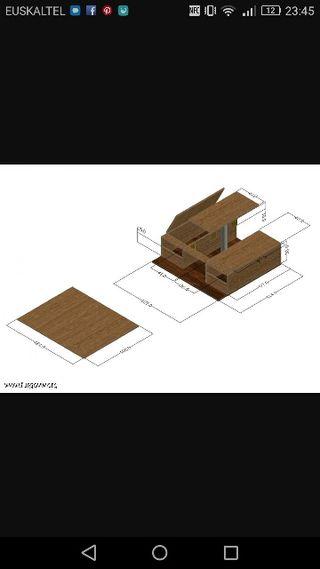 Mueble para coche Tourneo