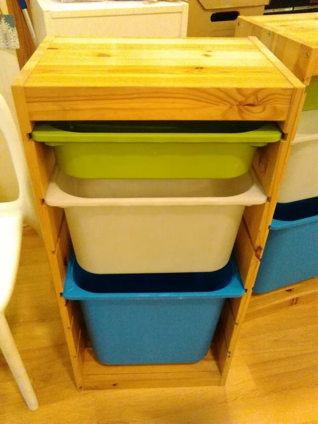 Mueble almacenaje Ikea Trofast Juguetero de segunda mano por 29 € en ...