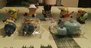 Lote de juguetes de los minnions