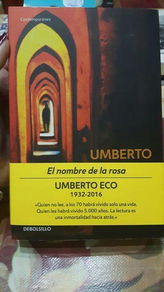 Libro: El nombre de la rosa Umberto Eco