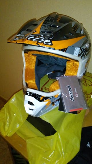 casco cross moto enduro