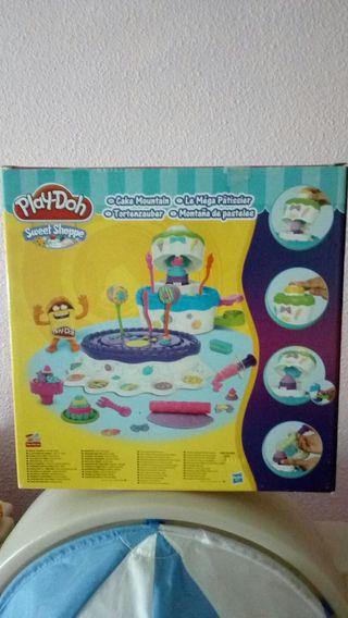Fabrica de pasteles y tarta playdoh