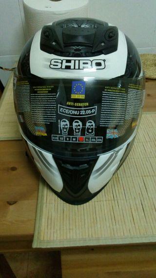 casco moto integral shiro