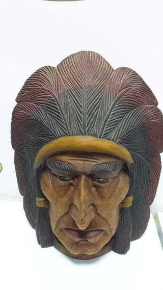 Mascara decorativa India
