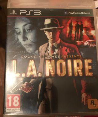 L. A Noire PS3
