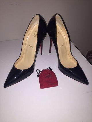 Christian louboutin black heels
