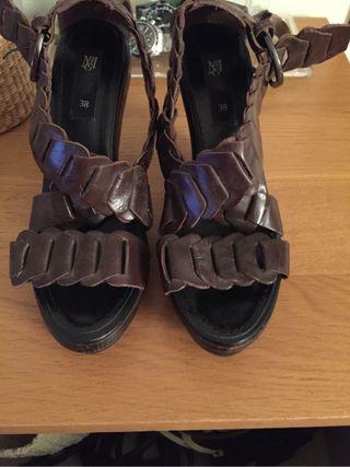 Zapatos tacón Mango