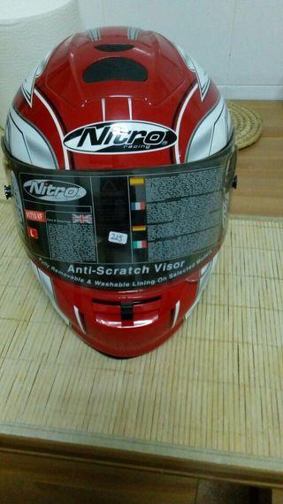 Casco moto nitro integral