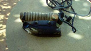 antigua plancha electrica