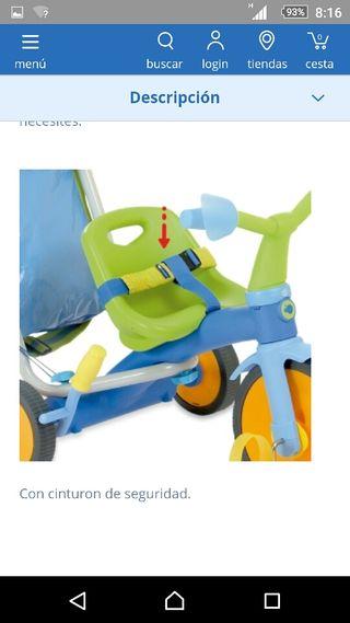 Triciclo Imaginarium 3*3 Junior Sky