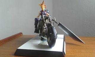 figura de resina escala 1/8 final fantasy 7