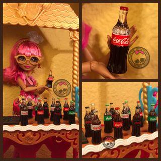 Botella de Coca-Cola Miniatura