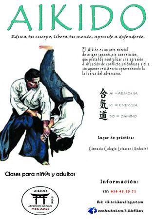 Clases de Aikido niñ@s y adultos