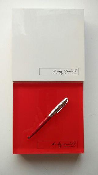 Bolígrafo Edicion Limitada Andy Warhol