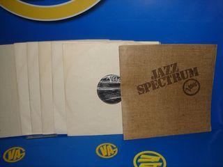 lote de vinilos jazz 9 vinilos SPECTRUM Verve