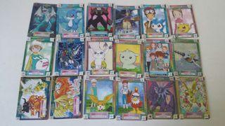 Cromos cartas Digimon