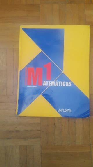 matematicas educacion secundaria M1 ANAYA
