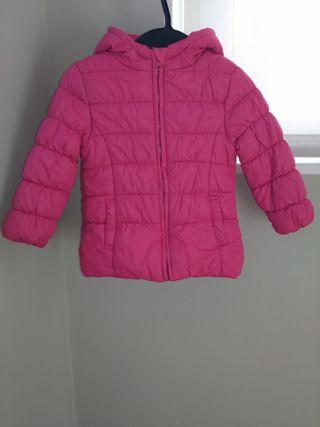 Abrigo rosa fucsia
