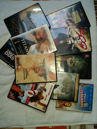 lote 10 películas