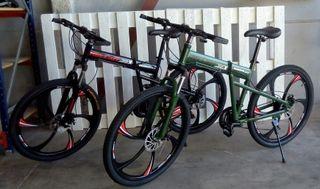 bicicletas hummer helliot plegables