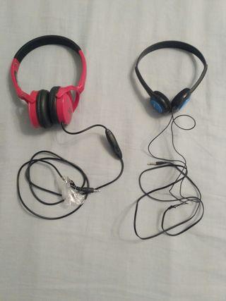 Cascos regulables, auriculares audio para niño.