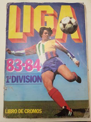 ALBUM DE FUTBOL DE LA LIGA 83 -84