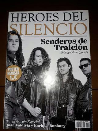 Revista de Heroes del Silencio Sendero de Traición