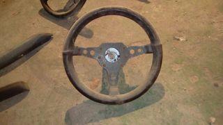 volante coche clásico