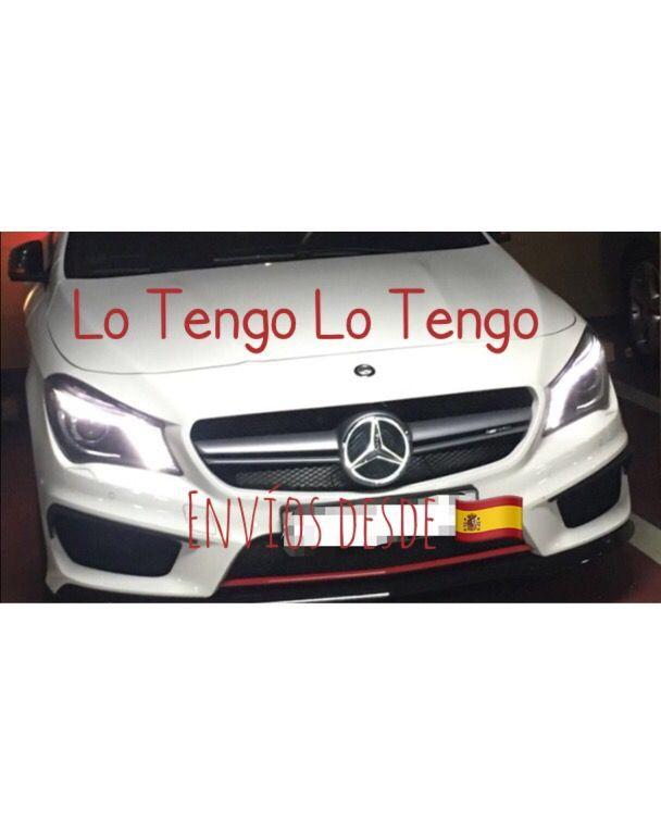 Estrella Frontal Ilumimada Mercedes Benz