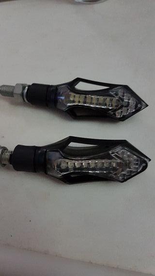 intermitentes luz diurna led moto