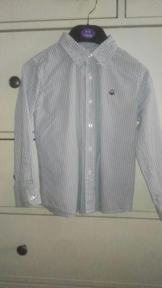 camisa Benetton niño