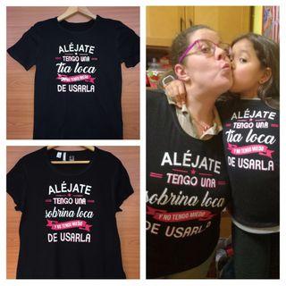 Camisetas para tita y sobrina