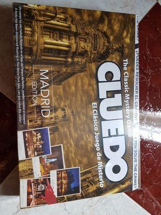 Juego de mesa Cluedo edición Madrid PRECINTADO