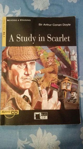 A study in Scarlet. Libro lectura recomendado.