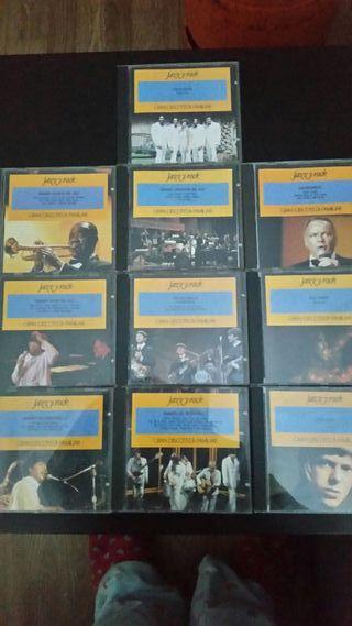 CD de jazz y Rock'N'Roll