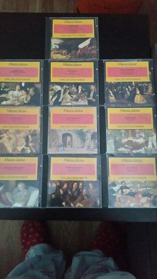 CD de música clásica son 9